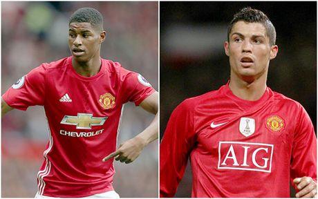 The thao 24h: Rashford muon tro thanh 'Ronaldo moi' - Anh 1