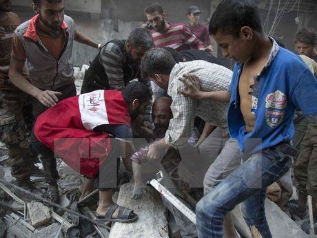 Gioi nghi sy My giuc Nha Trang trien khai 'Ke hoach B' o Syria - Anh 1