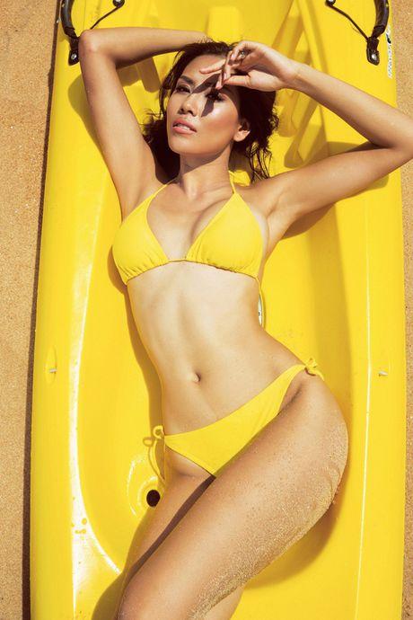 Anh bikini hot cua 4 'bong hoa' sap thi sac dep quoc te - Anh 2