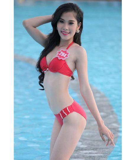 Anh bikini hot cua 4 'bong hoa' sap thi sac dep quoc te - Anh 9