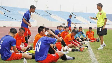 DT U19 Viet Nam gap rut chuan bi cho VCK U19 chau A 2016 - Anh 1