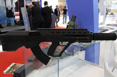 Ukraine tham vong thay the AK-74M bang sung truong Malyuk - Anh 1