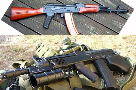 Ukraine tham vong thay the AK-74M bang sung truong Malyuk - Anh 3