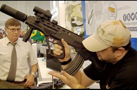 Ukraine tham vong thay the AK-74M bang sung truong Malyuk - Anh 8