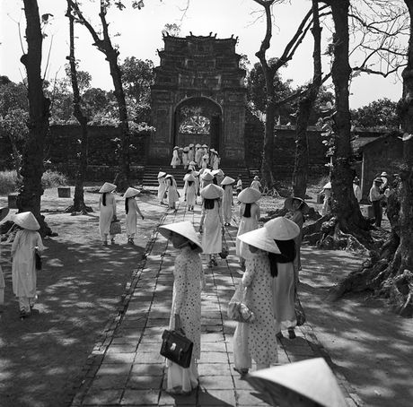 Hinh anh tuyet voi ve xu Hue dau thap nien 1950 - Anh 1