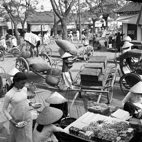 Hinh anh tuyet voi ve xu Hue dau thap nien 1950 - Anh 4