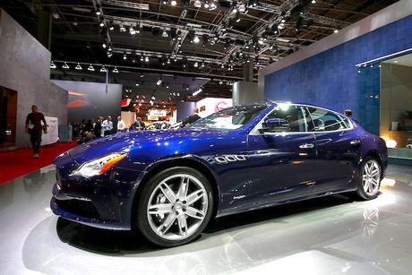 Xe sang Maserati Quattroporte 2017 chinh thuc 'lo dien' - Anh 2
