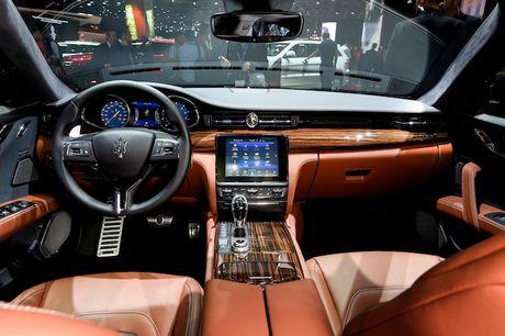 Xe sang Maserati Quattroporte 2017 chinh thuc 'lo dien' - Anh 4