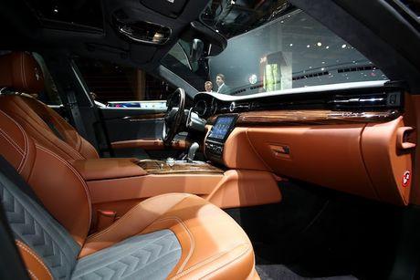 Xe sang Maserati Quattroporte 2017 chinh thuc 'lo dien' - Anh 5