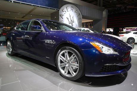 Xe sang Maserati Quattroporte 2017 chinh thuc 'lo dien' - Anh 6