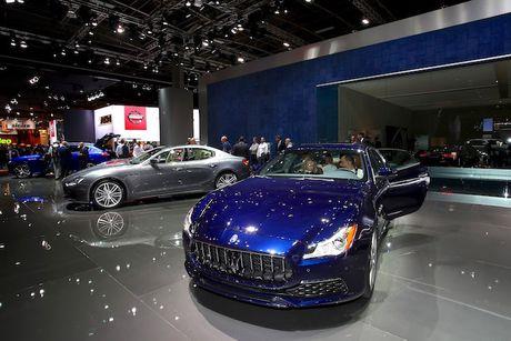 Xe sang Maserati Quattroporte 2017 chinh thuc 'lo dien' - Anh 7