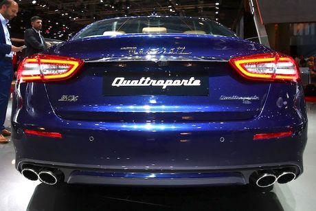 Xe sang Maserati Quattroporte 2017 chinh thuc 'lo dien' - Anh 8