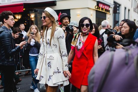 Chu thuong hieu thoi trang Elise Viet Nam du show thoi trang cua Dior - Anh 1