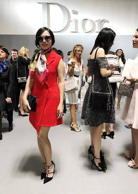 Chu thuong hieu thoi trang Elise Viet Nam du show thoi trang cua Dior - Anh 2