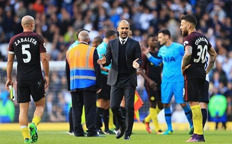 That bai truoc Tottenham, Pep Guardiola tam phuc khau phuc - Anh 1
