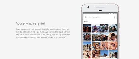 Lo cau hinh cua Google Pixel va Pixel XL - Anh 8