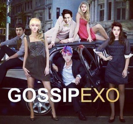 Anh che: Nhung 'co nang' EXO xinh dep - Anh 10