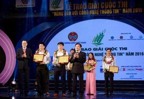 """Nong dan Hoa Binh dat giai Nhat cuoc thi """"Nong dan voi ung dung CNTT"""" 2016 - Anh 2"""