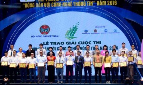 """Nong dan Hoa Binh dat giai Nhat cuoc thi """"Nong dan voi ung dung CNTT"""" 2016 - Anh 4"""