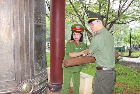 Cong doan Tong cuc Chinh tri CAND ve nguon tai Quang Binh, Quang Tri - Anh 4