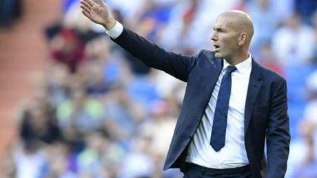 Zidane: 'Dung phat dien len vi Real hoa khi day moi la thang 10' - Anh 1