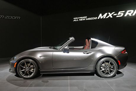 Mazda MX-5 Miata RF Launch Edition ban 2017 chi ban ra 1000 chiec - Anh 4