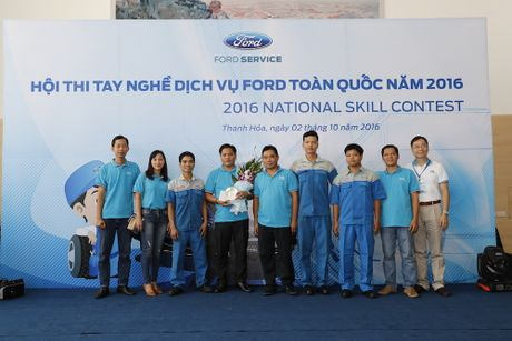"""Ford Viet Nam to chuc """"Hoi thi tay nghe dich vu toan quoc"""" - Anh 4"""