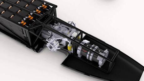 Xe dien Venturi VBB-3 lap ki luc toc do gan 600km/h - Anh 3