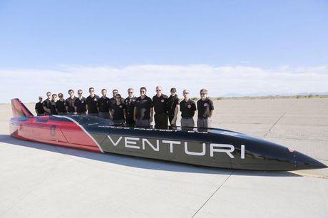 Xe dien Venturi VBB-3 lap ki luc toc do gan 600km/h - Anh 7