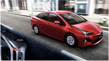 Toyota Prius 2017 sap ra mat Viet Nam - Anh 1