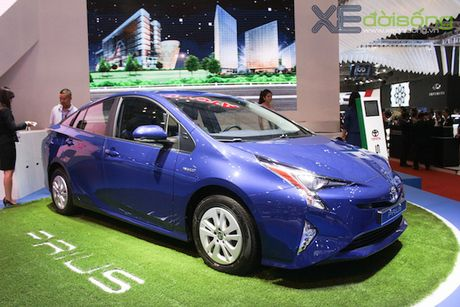 Toyota Prius 2017 sap ra mat Viet Nam - Anh 4