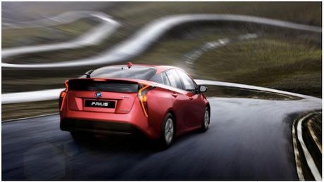 Toyota Prius 2017 sap ra mat Viet Nam - Anh 5