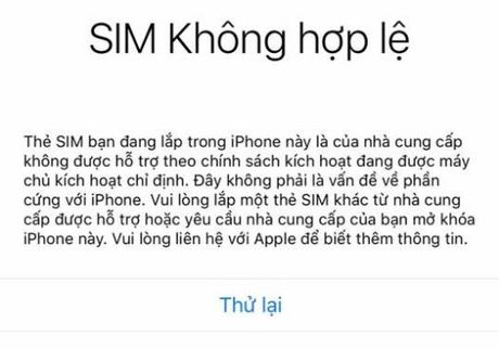 """Reset hoac restore lai co the khien iPhone """"chet cung"""" - Anh 2"""