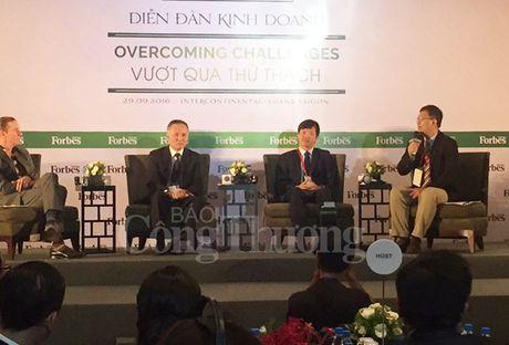 500 doanh nghiep du Dien dan Kinh doanh Forbes Viet Nam 2016 - Anh 1