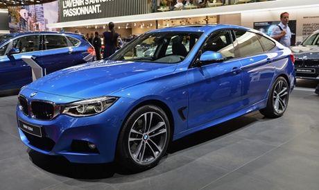 BMW trinh lang serie 3 GT 2017 tai Paris - Anh 1