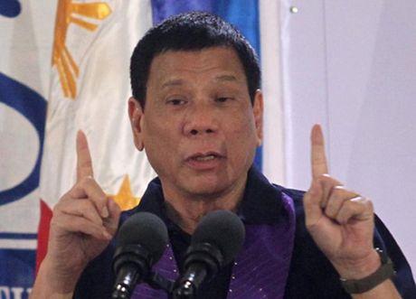 Tong thong Philippines doa ngung thoa thuan quoc phong voi My - Anh 1