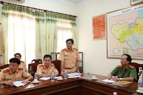 Phong canh sat giao thong tinh Ha Tinh: Nhieu giai phap dam bao TTATGT - Anh 1