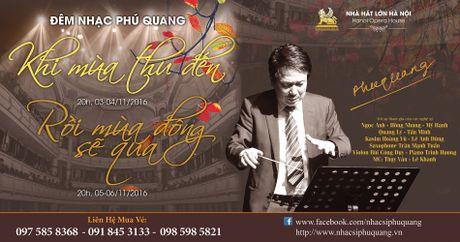 Phu Quang lam hai liveshow trong 4 dem - Anh 1