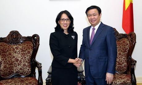 Pho Thu tuong Vuong Dinh Hue tiep lanh dao tap doan Central Group - Anh 1
