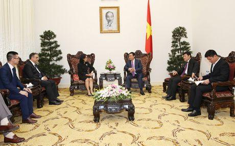 Pho Thu tuong Vuong Dinh Hue tiep lanh dao tap doan Central Group - Anh 2