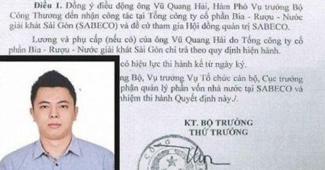 Pho thu tuong: Lam ro quy trinh bo nhiem ong Vu Quang Hai - Anh 1