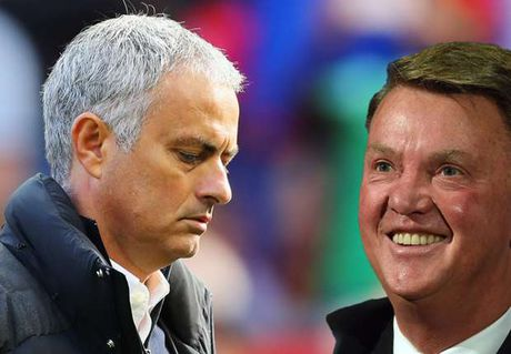 Mourinho te hon Van Gaal khi dan dat MU - Anh 1