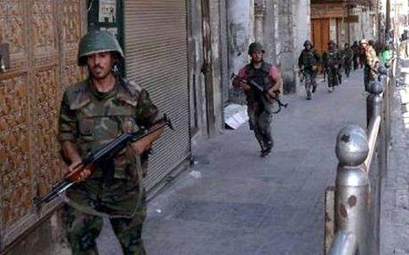 Quan doi Syria gianh quyen kiem soat vung cong nghiep phia Bac Aleppo - Anh 1