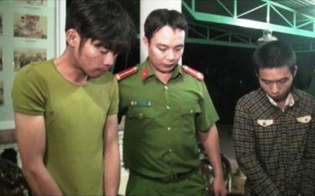Bat 2 doi tuong van chuyen 600 vien ma tuy tong hop dang 'phe' thuoc - Anh 1