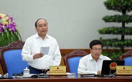 Thu tuong: Phan dau tang truong kinh te dat 6,3 den 6,5% - Anh 1
