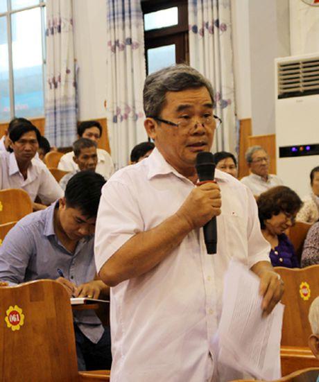 Cu tri kien nghi nhieu van de 'nong' toi Truong Ban Tuyen giao T.U - Anh 2