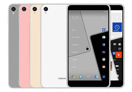 Dien thoai Nokia D1C chay Android 7.0, gia mem - Anh 1