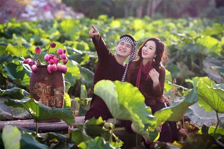 Hoa khoi Thu Ha goi cam tung cm khi lam co dau - Anh 14