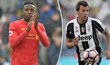 Giua Giroud, Origi va Sturridge, Juventus dang phan van - Anh 1