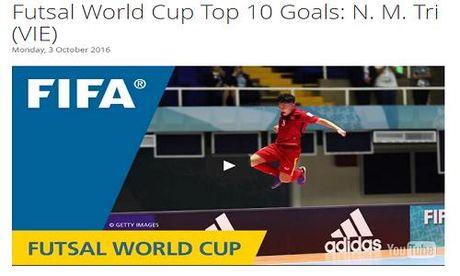Tuyen thu Futsal Viet Nam duoc FIFA vinh danh - Anh 1